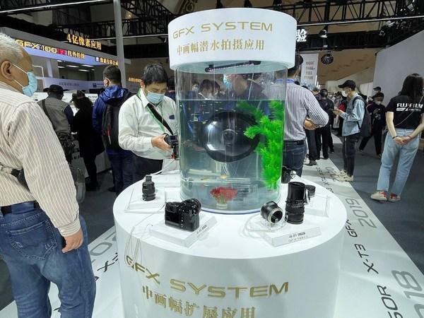 富士胶片在P&E 2021展示GFX中画幅系统丰富的扩展应用