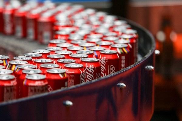 可口可乐中国生产线