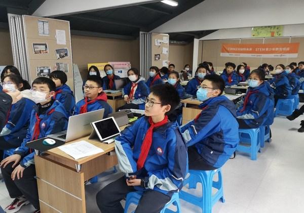 """""""Timken益践未来""""STEM青少年科普课堂 -- 上海市澧溪中学"""