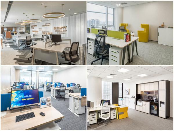 ATLAS 寰图多样化的办公场景,满足不同客户的租赁需求