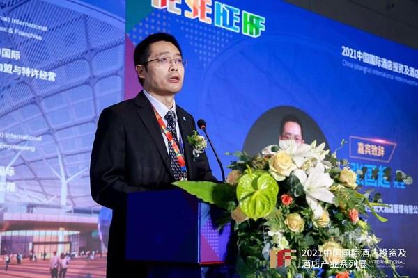 格兰云天酒店管理公司董事长、深圳市饭店业协会会长张国超致辞
