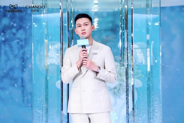 天猫品牌营销中心总经理苏誉先生登台发言