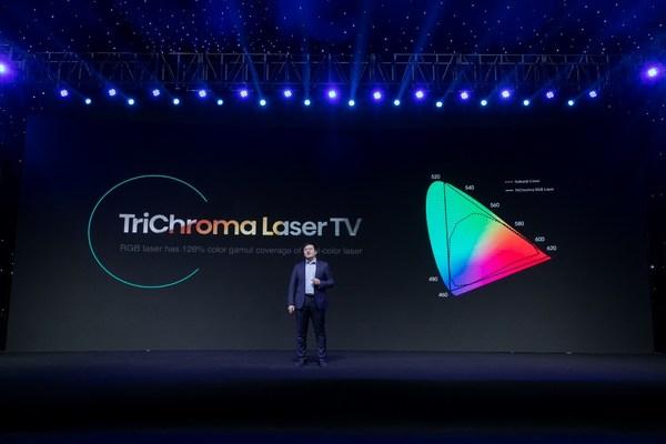 海信于芝涛:2021激光电视进入全色时代