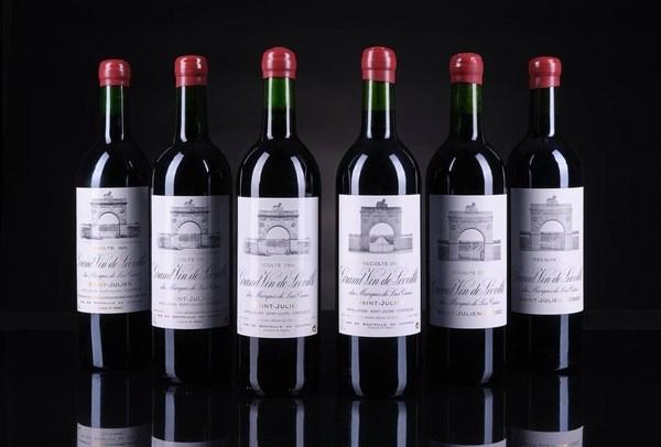 "Lot 46 - 雄狮酒庄""镜像盒""之神秘年份组合套装-第8套(6) | 拍卖前估值 HKD35,000 - HKD50,000 | 成交价 HKD79,625"