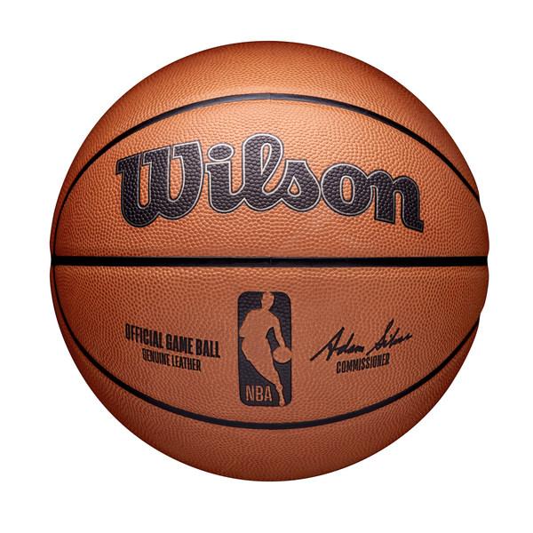 Wilson 的新 NBA 官方比赛用球