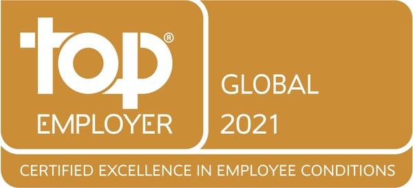 """2021年""""全球杰出雇主"""""""