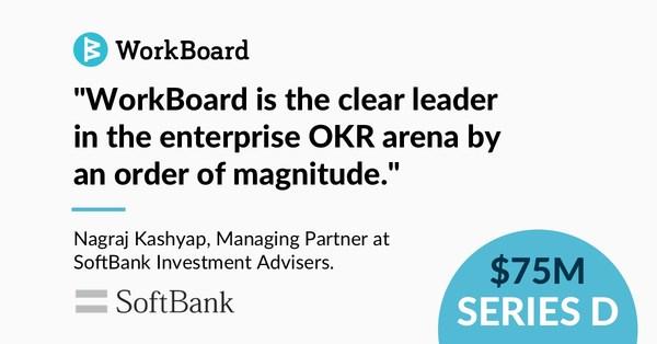 SoftBank Vision Fund 2领投WorkBoard的D轮融资