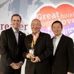 上海浦东盛高假日酒店荣获假日品牌最佳新开业酒店奖