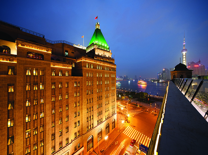 Fairmont peace hotel wins best hotel in china at cond for Best hotel awards