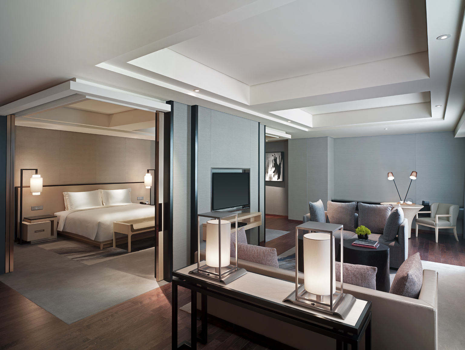 New world beijing hotel prepares for double eleven flash for Modern hotel decor